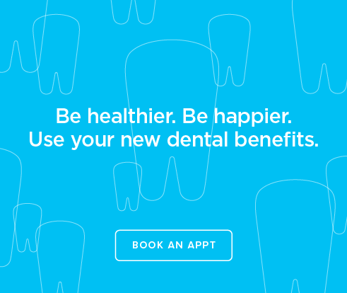 Be Heathier, Be Happier. Use your new dental benefits. - Dentists of Montgomery